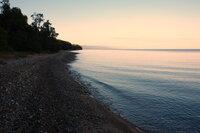 Утренний Байкал, южный берег