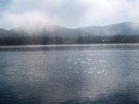 Утренний туман на Селенге