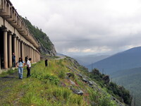 Буйбинский перевал, защита от лавин
