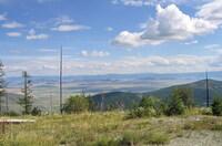 Вид на долину, до Кызыла осталось 90км