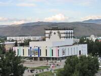 Муздрамтеатр в центре Кызыла
