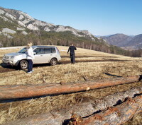 Привал на перевале, 1600 м