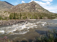 Порог Ильгумень - большая вода