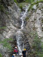 Водопадик по дороге на Учар