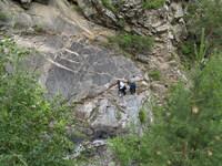 Ползком по скале
