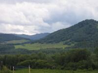Вид из лагеря, правый берег Катуни