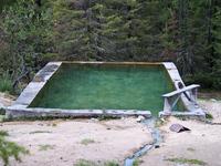 Радоновый бассейн, +25 градусов примерно
