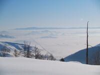 Тывинская долина. Зимой такой же инопланетный вид.