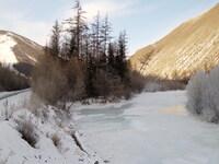 Шумящие реки застыли. Тишина звенящая