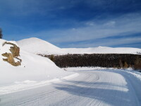 Дальше от долины - больше снега