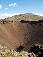 Кратер вулкана Хоргийн-тогоо